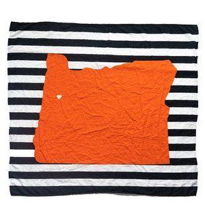 Oregon State Beavers Inspired Baby Blanket Organic